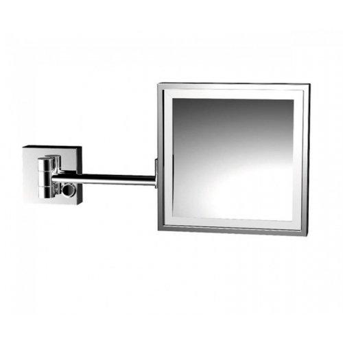 Купить купить с LED подсветкой квадратное зеркало EMCO 1095 001 19 202*202 мм 109500119  в Киеве vannaja.kiev.ua