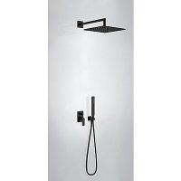 Матовый Чёрный Смеситель TRES 21117001NM Project Color для ванной