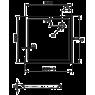 купить Huppe 235012 Verano 235012.055 Квадратный поддон 100 на 100 см литой камень в Киеве vannaja.kiev.ua