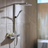 Купити HANSGROHE 27361000 Raindance E 27361 Showerpipe 300 1jet з ShowerTablet 350 ситема для Душа Хром в Києві vannaja.kiev.ua