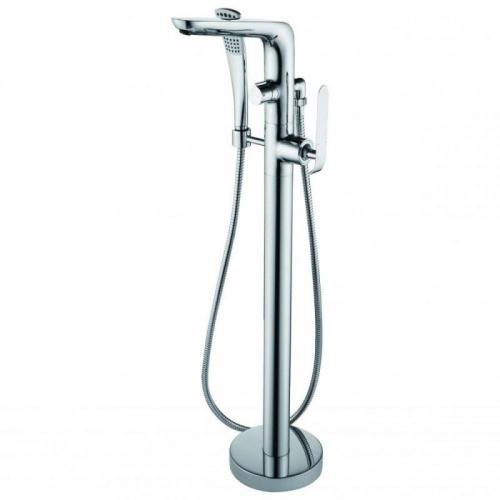 Купить Купить напольный смеситель для ванны DevIT 37561148 KATARINA в Киеве vannaja.kiev.ua