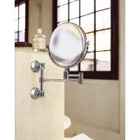 Axor 42090820 Montreux 42090 Косметическое Зеркало с Подвижным держателем Увеличение в 1,7 раза Цвет шлифованный никель