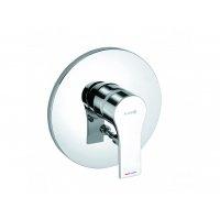 Смеситель для круглой раковины KLUDI 482560565 Zenta SL цвет хром без донного клапана