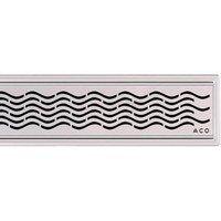 ACO 408766 ShowerDrain C-line Трап для Душа с Вертикальным Фланцем Низкий Сифон 885 мм