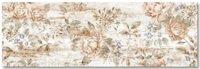 ALMERA CERAMICA DEC VANCOUVER FLOWER Плитка для Облицовки Стен и для Укладки Пола 20х60 см Цвет - Бежевый