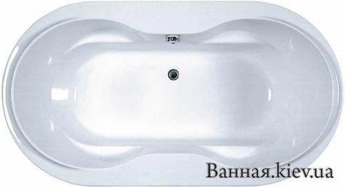 Купити ARNICA RAVAK CZ CN01000000 Овальний акрилова ванна 185 на 100 см колір білий в Києві vannaja.kiev.ua