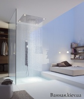 Axor 10621800 ShowerHeaven 970 x 970 мм, Верхний душ без подсвет