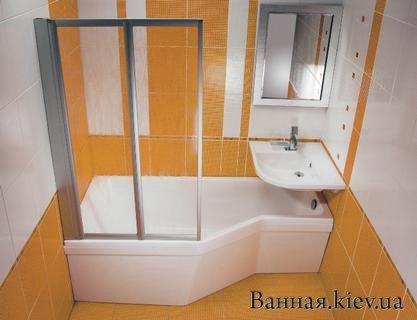 Купить BEHAPPY L/R 150x75 Равак Киев C121000000 в Киеве vannaja.kiev.ua