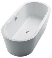 DevIT 17080121 Fresh Свободностоящая Ванна 1715 х 783 х 540 мм Материал Акрил Цвет Белый