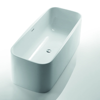 DevIT 17176130 Optima Свободностоящая Ванна 1712 х 760 х 580 мм Материал Акрил Цвет Белый
