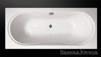 Devit 18080131 KATARINA Ванна 180 х 80 см Акриловая Прямоугольная с Ножками Чехия