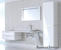 Duravit Pura Vida 9206 Пенал 180 x46 9206R цвет белый глянцевый