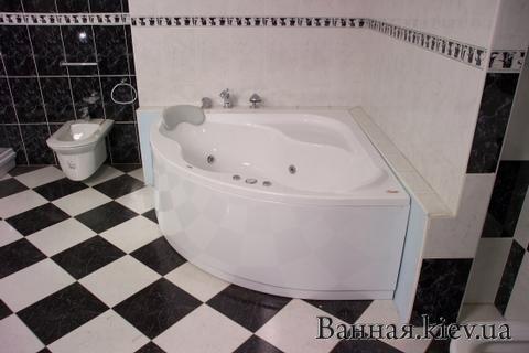 Купить Ванна GENTIANA 140x140 Ванная Ravak CF01000000 кгловая Акриловая в Киеве vannaja.kiev.ua