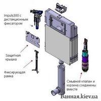 Купити Бачки для підлогових приставних унітазів в Києві