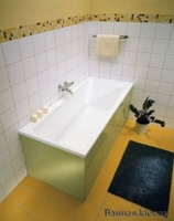 Gustavsberg Logic 180x80 Classic прямоугольная акриловая ванна +