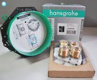 купити великий білий Верхній душ Hansgrohe 26234700 Rainfinity на 3 режиму Ø 360 мм