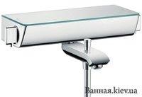 Hansgrohe 13141400 Ecostat Select 131414 для ванны белый/хром Термостатический смеситель
