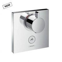 Hansgrohe 15761000 ShowerSelect Highfow 15761 Термостат з клапаном для Ручного Душа з Великим Витратою Води Зовнішня частина Колір Хром