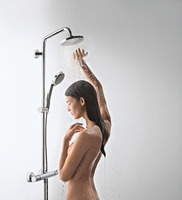 HANSGROHE 27361000 Raindance E 27361 Showerpipe 300 1jet з ShowerTablet 350 ситема для Душа Хром