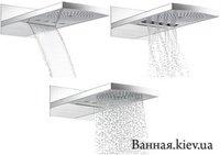 Hansgrohe 28411000 Raindance 28411 Rainfall 240 AIR 3jet Ситема Верхних Душей для Настенного Монтажа
