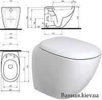 Купить Приставные Унитазы под Инсталляцию в Киеве