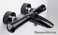 Kludi 351018638 ZENTA Смеситель для ванны с термостатом черный