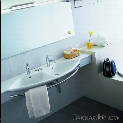 купить Laufen Palace DUE 1261.5 раковина двойная 150 см 12615 000 000 Ш в Киеве vannaja.kiev.ua