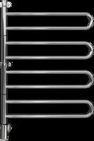 PAX 24-1026 Flex U 4/650 VOXNAN 3602-4 CKV Полотенцесушитель Электрический Поворотный 4 Секции 650x950 мм / 68вт Цвет - Хром Швеция