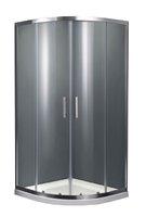 квадратна кабіна душова PRIMERA PRI2922C PRIME розсувних 90 * 90 хром / прозоре скло