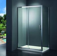 Купити душову кабіну з безкоштовною доставкою PRIMERA PRI2821C PRIME 80 * 80 хром / прозоре скло