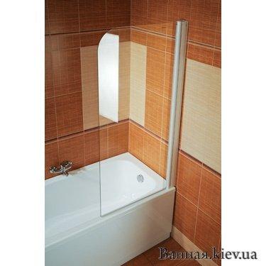 Купити RAVAK EVS1-75P (Transparent) Шторку для ванни в Києві vannaja.kiev.ua