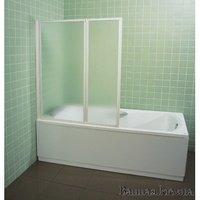 RAVAK VS 3 (Rain) шторка на ванну 795P010041 Шторка для ванни VS3 100 белый+Rain