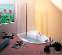Шторки Ravak Rosa 1,6 (Rain) VSK2 Шторка для ванни VSK2 Rosa 160 Rain 76L9010041