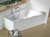 RIHO BA9000500000000 DOPPIO R BA9 Ванна 180х130 см Правостороння Акриловая Ванна