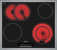 SIEMENS ET645NN17 Электрические Варочные Панели Поверхности 60 см 4 конфорки сверхбыстрого нагрева highSpeed из которых 1 конфорка с овальной зоной расширени