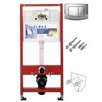 TECE 9.400.005 Base Kit 9400005 Инсталляция для Подвесного Унитаза Комплект 4 в 1 Германия