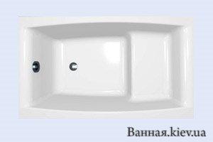 Купить Ванна 120 см Cersanit S301-039 SELENA Ванна 120х70 + PW03 в Киеве vannaja.kiev.ua