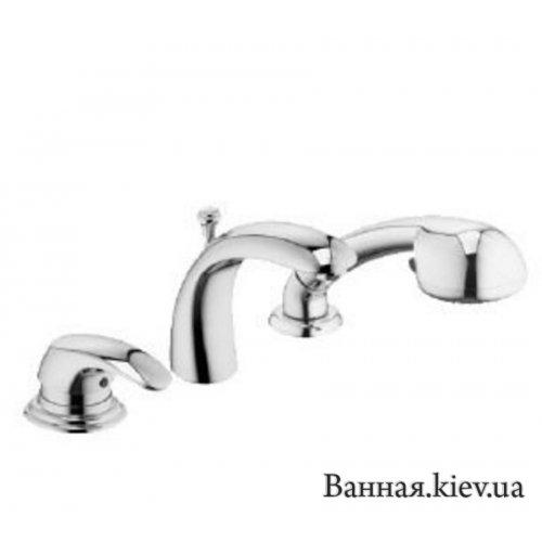 Купити Змішувач для Ванни на 3 отв. York Kludi 394460580 в Києві vannaja.kiev.ua