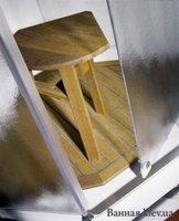 Стульчик деревянный (тик) 49921-00-01 для Ido Showerama