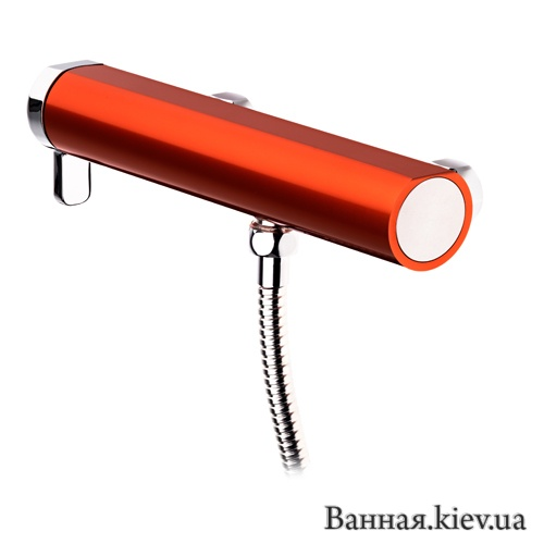 Купить GB4121900449 Душ Смеситель Gustavberg Coloric Red 219004-49 в Киеве vannaja.kiev.ua