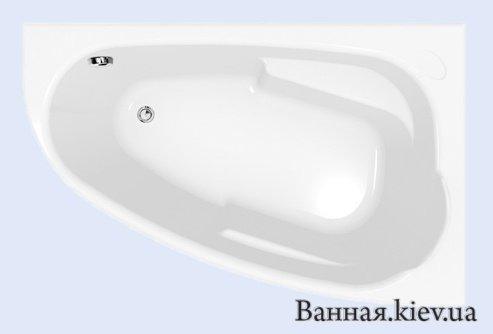 Купити Ванна акрилова Cersanit Joanna 150x95 права Польща S301-167 в Києві vannaja.kiev.ua