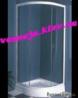 ДУШЕВЫЕ КАБИНЫ КИТАЙ КИЕВ R-90 FSE86510 + поддон white