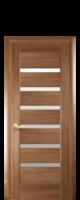 Новый Стиль Линнея Межкомнатные Двери ПВХ Золотая Ольха со Стеклом Сатин Дверное Полотно