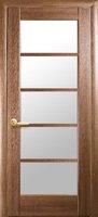 Новый Стиль Муза Межкомнатные Двери ПВХ Золотая Ольха со Стеклом Сатин Дверное Полотно
