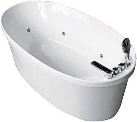 купить APPOLLO AT-9108 Ванна 170 x 80 x 60 см 8 гидромассажных форсунок Встроенная LED подсветка AY05 в Киеве vannaja.kiev.ua