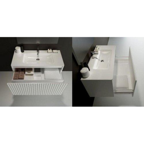 купить BRETTA G3003001 EMMA 101х46 см Раковина мебельная накладная Белая 3003001  в Киеве vannaja.kiev.ua