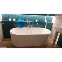 ARNICA RAVAK CZ CN01000000 Овальний акрилова ванна 185 на 100 см колір білий