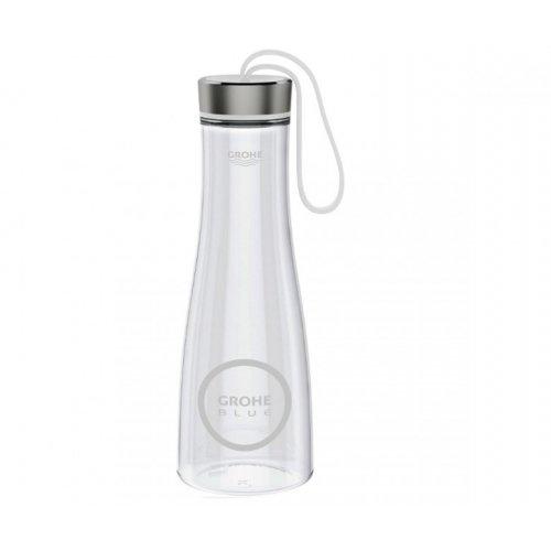 купить Бутылка для питьевой воды 500 мл GROHE BLUE 40848000 в Киеве vannaja.kiev.ua
