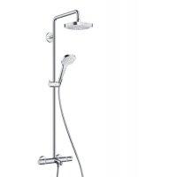 Hansgrohe 27352400 Croma Select E 273524 180 2jet Showerpipe Смеситель для Ванны с Душевой Стойкой Системой