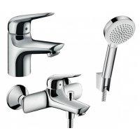 Набір змішувачів 5 в 1 HANSGROHE 710242665 NOVUS для ванни з сифоном